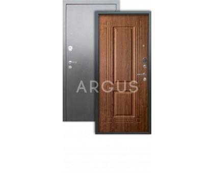 Дверь Аргус Люкс АС Триумф дуб золотой/серебро антик