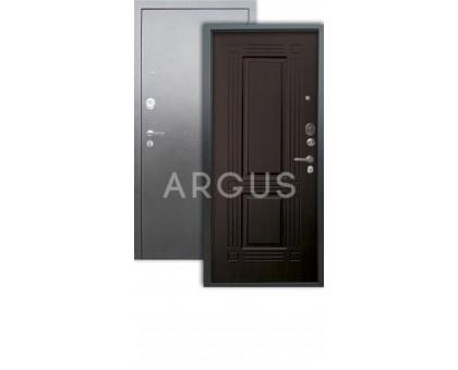 Дверь Аргус Люкс АС Триумф венге/серебро антик