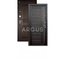 Дверь Аргус Люкс Про 3К 2П Диана вельвет/сабина венге