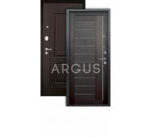 Дверь Аргус Люкс Про 3К 2П Диана вельвет/триумф венге