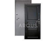 Дверь Аргус Люкс Про 3К Сабина венге тисненый/серебро антик