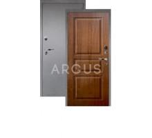 Дверь Аргус Люкс Про 3К Сабина дуб золотой/серебро антик