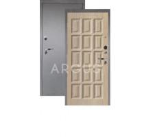 Дверь Аргус Люкс Про 3К Шоколад капучино/серебро антик