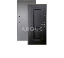 Дверь Аргус Люкс Про 3К Триумф венге тисненый/серебро антик