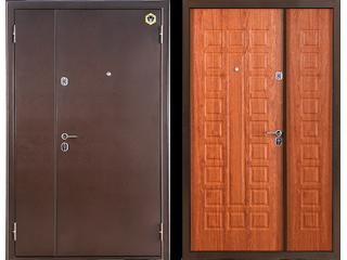 Двустворчатые двери - необходимость или нет?