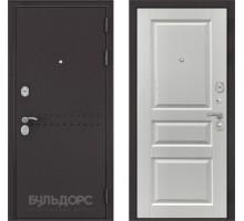Входная дверь Бульдорс MASS 90 ларче белый