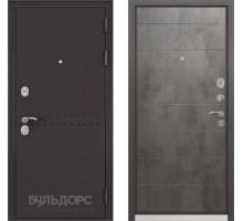 Входная дверь Бульдорс MASS 90 бетон темный