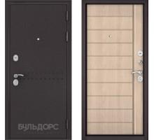 Входная дверь Бульдорс MASS 90 ясень крем