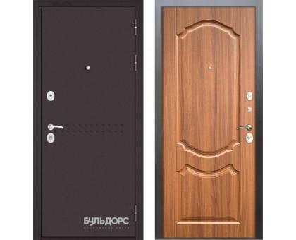 Входная дверь Бульдорс MASS 90 PP орех лесной