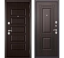 Входная дверь Бульдорс MASS 90 PP ларче темный