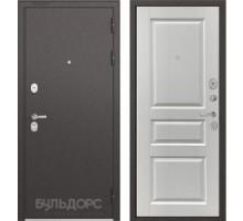 Входная дверь Бульдорс STANDART 90 ларче белый
