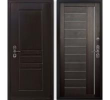 Входная дверь Гардекс CISA венге/ D-10 венге