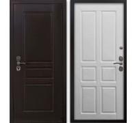 Входная дверь Гардекс CISA венге/ D-11 роял вуд белый