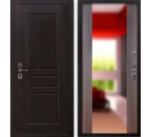 Входная дверь Гардекс CISA венге/ большое зеркало филадельфия коньяк