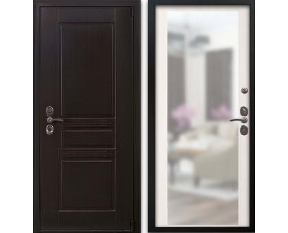 Входная дверь Гардекс CISA венге/акация