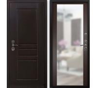 Входная дверь Гардекс CISA венге/зеркало венге