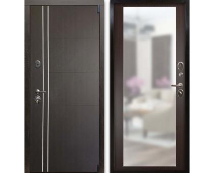 Входная дверь Гардекс С D13/D-1 зеркало венге - венге