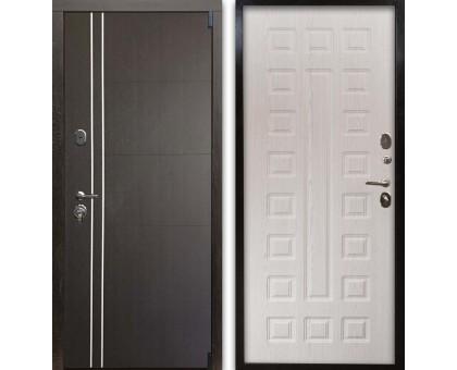 Входная дверь Гардекс С D13/D-3 венге - дуб беленый