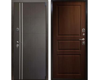 Входная дверь Гардекс С D13/D-4 венге - орех бренди