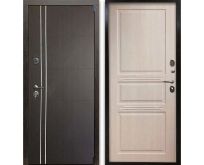 Входная дверь Гардекс С D13/D-4 венге - сандал белый