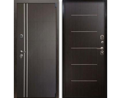Входная дверь Гардекс С D-13/D-6 венге - венге