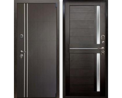 Входная дверь Гардекс С D-13/D-8 венге - венге
