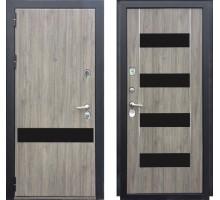 Входная дверь Zetta Премьер 100 КБ1 ИНВЕРИЯ серый дуб