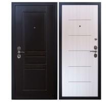 Входная дверь Гардекс CISA венге/сандал белый
