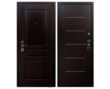 Входная дверь Гардекс CISA венге/венге
