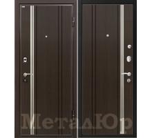 Входная дверь МеталЮр М2, венге