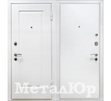 Входная дверь МеталЮр М10, белый