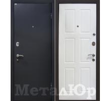 Входная дверь МеталЮр М21, белый