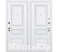 Входная дверь МеталЮр М11, белый