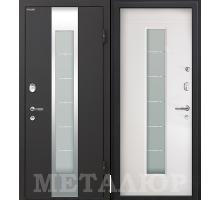Входная дверь МеталЮр М35 белый малибу