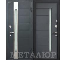 Входная дверь МеталЮр М36 Антрацит