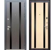 Входная дверь Персона Гранд-2 венге-лиственница бежевая