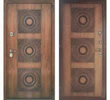 Входная дверь Персона Евро 3 Верона винорит Золотой дуб