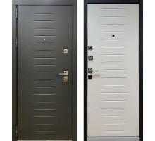Входная дверь Персона Гранд-2 элит черный софт-белый софт
