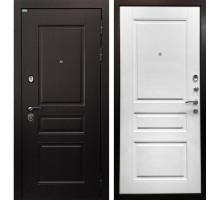 Входная металлическая дверь Лондон 3К матовый белый