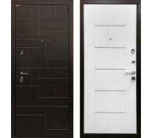 Входная металлическая дверь Омега 3К белый ясень