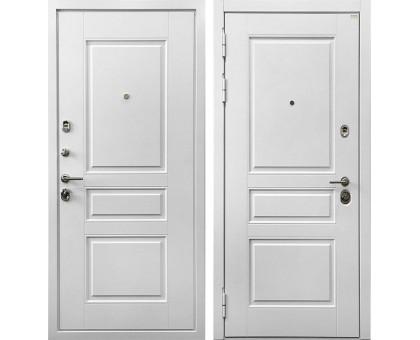 Входная металлическая дверь Сноу 3К Силк Сноу
