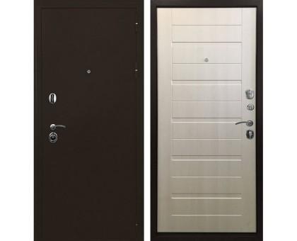 Входная металлическая дверь Тренд 3К лиственница беж