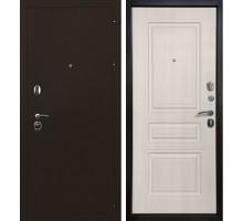 Входная металлическая дверь Троя 3К лиственница беж