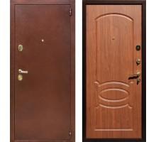 Входная дверь Rex 2 Латунь, Цвет 'Береза мореная'