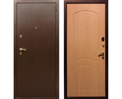 Входная дверь Rex 1А Латунь, Цвет 'Дуб'