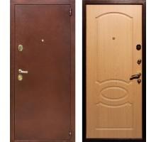 Входная дверь Rex 2 Латунь, Цвет 'Дуб'