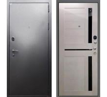 Входная дверь Rex Титан СБ-18 'Серебро антик / Лиственница бежевая'