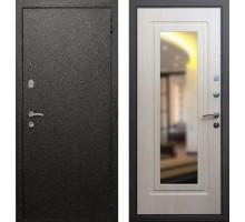 Входная дверь Rex Верона с зеркалом 'Беленый дуб'