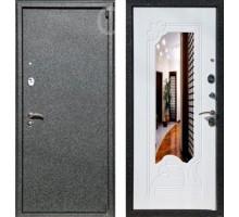 Входная дверь Rex 3 с зеркалом 'Белый ясень'