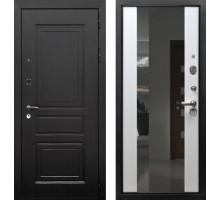 Входная дверь Rex 6 с зеркалом 'Белый ясень'